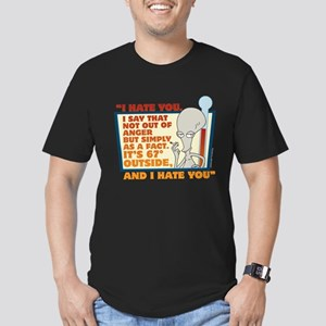 American Dad I Hate Yo Men's Fitted T-Shirt (dark)