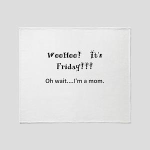 Friday! Throw Blanket