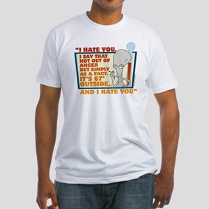 American Dad I Hate You Fitted T-Shirt