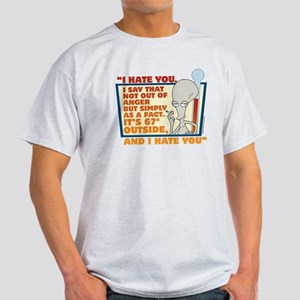 American Dad I Hate You Light T-Shirt