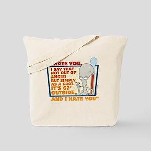 American Dad I Hate You Tote Bag