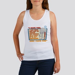 American Dad I Hate You Women's Tank Top