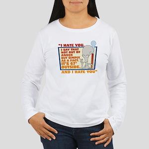 American Dad I Hate Yo Women's Long Sleeve T-Shirt