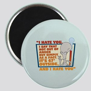 American Dad I Hate You Magnet