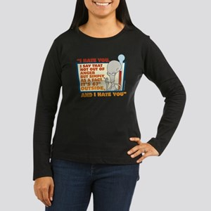 American Dad I Ha Women's Long Sleeve Dark T-Shirt