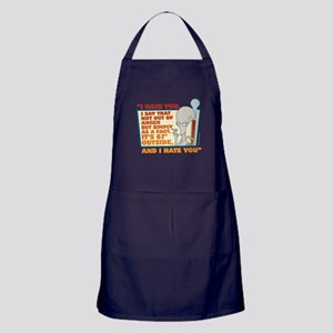 American Dad I Hate You Apron (dark)