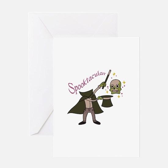 Spooktacular Magic Greeting Cards