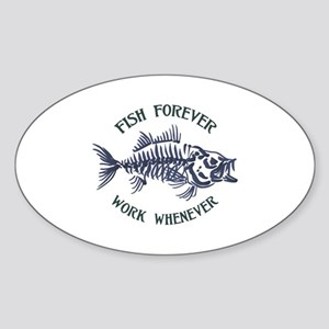 Fish Forever Sticker
