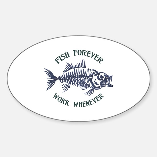 Fish Forever Decal