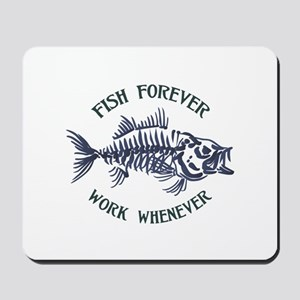 Fish Forever Mousepad