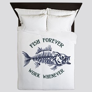 Fish Forever Queen Duvet
