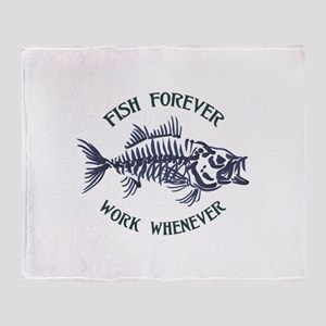 Fish Forever Throw Blanket