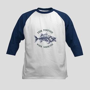 Fish Forever Baseball Jersey