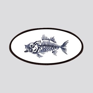 Mean Fish Skeleton Patch