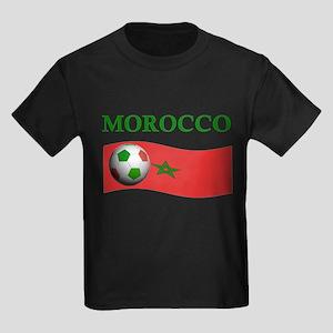 TEAM MOROCCO WORLD CUP Kids Dark T-Shirt