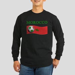 TEAM MOROCCO WORLD CUP Long Sleeve Dark T-Shirt