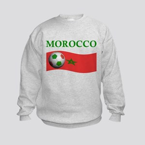 TEAM MOROCCO WORLD CUP Kids Sweatshirt