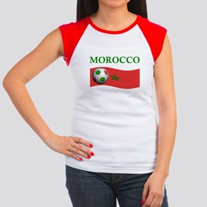 TEAM MOROCCO WORLD CUP Women's Cap Sleeve T-Shirt