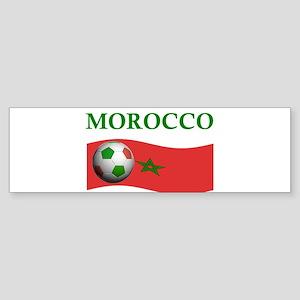 TEAM MOROCCO WORLD CUP Bumper Sticker
