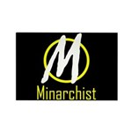Minarchist Rectangle Magnet (10 pack)