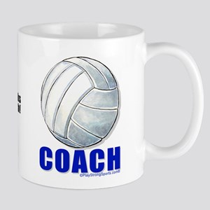 Thanks Coach Volleyball Mugs