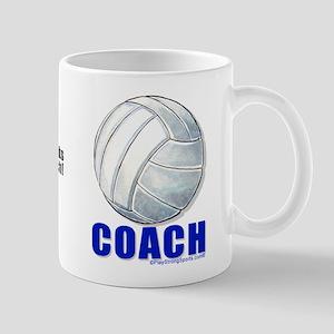 Thanks Coach Volleyball Mugs