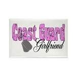 Coast Guard Girlfriend Rectangle Magnet (10 pack)