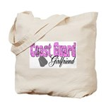 Coast Guard Girlfriend  Tote Bag