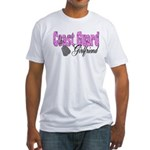 Coast Guard Girlfriend Fitted T-Shirt