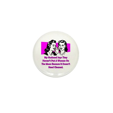 Woman On The Moon Mini Button  sc 1 st  CafePress & Moon Pig Buttons - CafePress