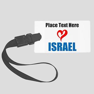 Loves Israel Luggage Tag