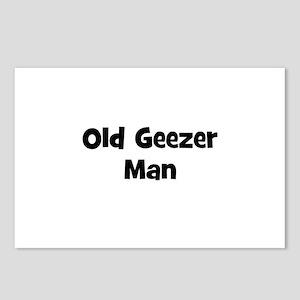 Old Geezer Man Postcards (Package of 8)