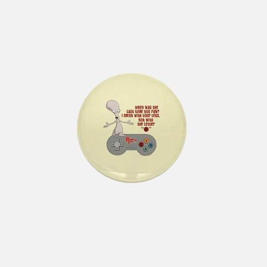American Dad Letter X Mini Button