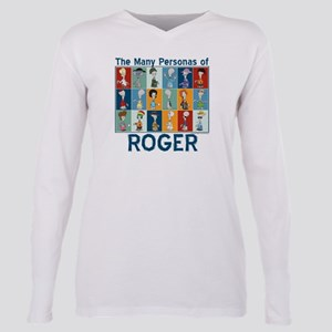 American Dad Roger Perso Plus Size Long Sleeve Tee