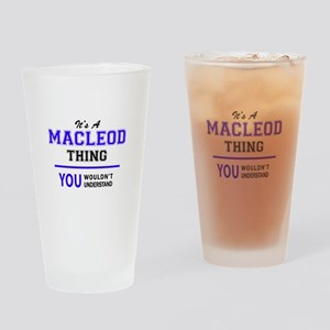It's MACLEOD thing, you wouldn't un Drinking Glass