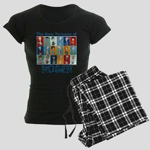 American Dad Roger Personas Women's Dark Pajamas