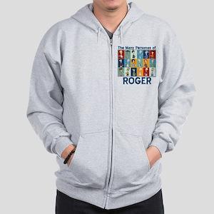 American Dad Roger Personas Zip Hoodie