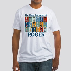 American Dad Roger Personas Fitted T-Shirt