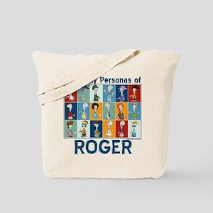 American Dad Roger Personas Tote Bag