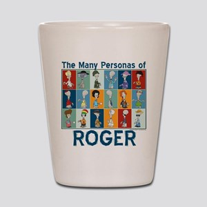 American Dad Roger Personas Shot Glass