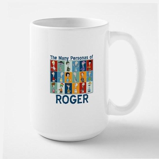 American Dad Roger Personas Large Mug