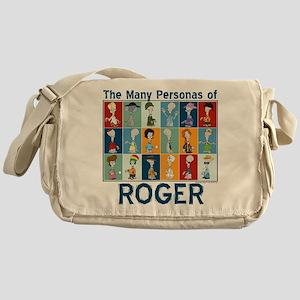 American Dad Roger Personas Messenger Bag