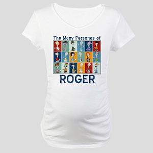 American Dad Roger Personas Maternity T-Shirt