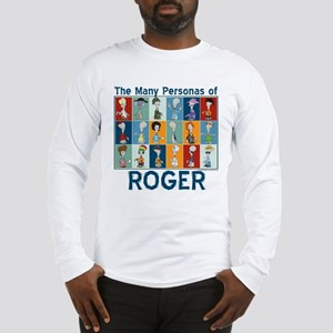 American Dad Roger Personas Long Sleeve T-Shirt