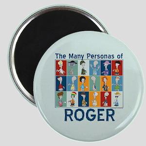 American Dad Roger Personas Magnet