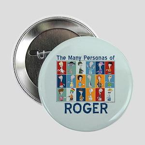 """American Dad Roger Personas 2.25"""" Button"""