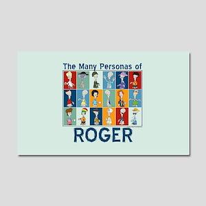 American Dad Roger Personas Car Magnet 20 x 12