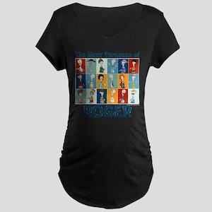 American Dad Roger Personas Maternity Dark T-Shirt