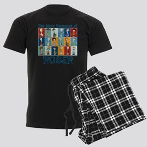 American Dad Roger Personas Men's Dark Pajamas