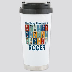American Dad Roger Pers Stainless Steel Travel Mug